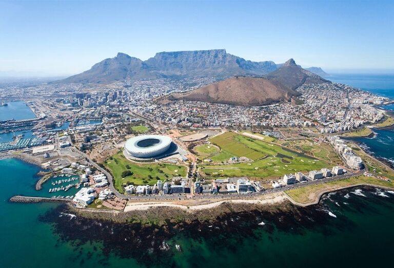 Mesto Cape Town so štadiónom