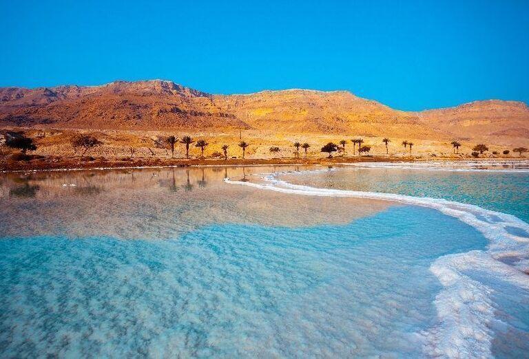 Mŕtve more, v ktorom sa nedá plávať ani ponárať