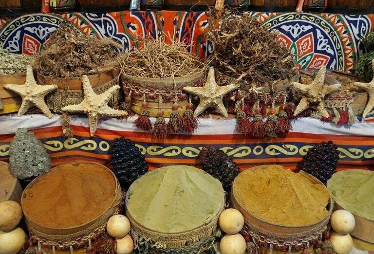 Ponuka korenia v Maroku