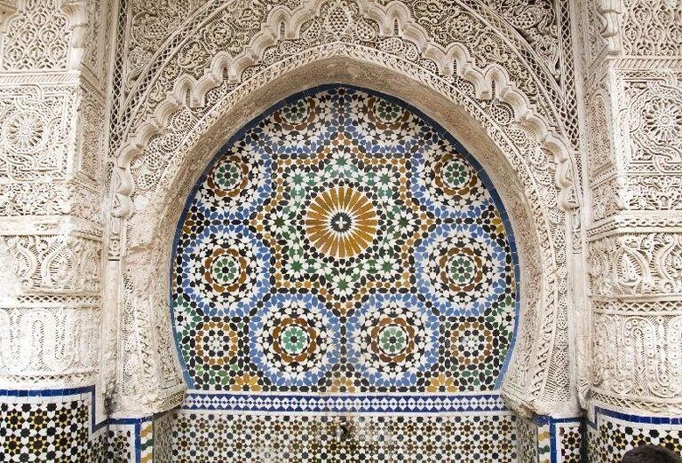 Architektúra minaretov v Maroku