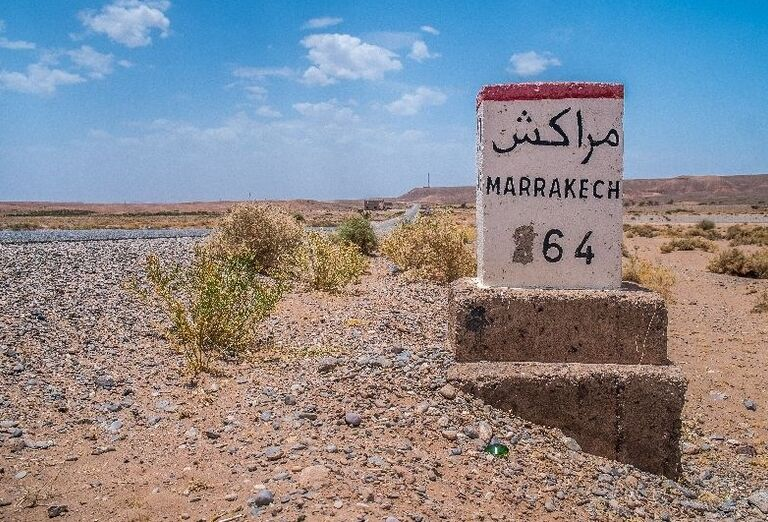 Cesta do Marakéšu