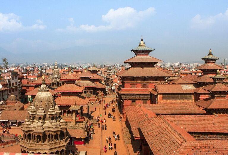 Námestie Patan Durbar v Káthmandu