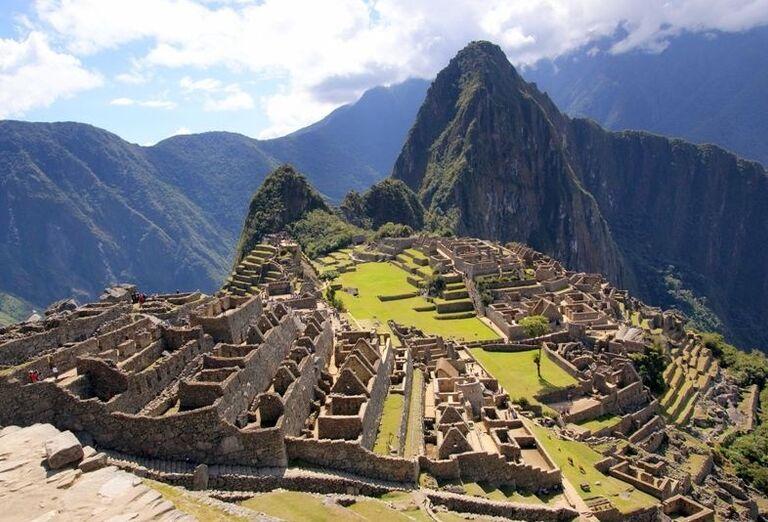 Pohľad na Machu Picchu