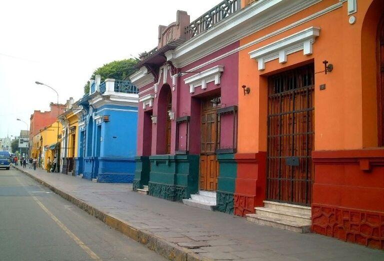 Farebné domčeky
