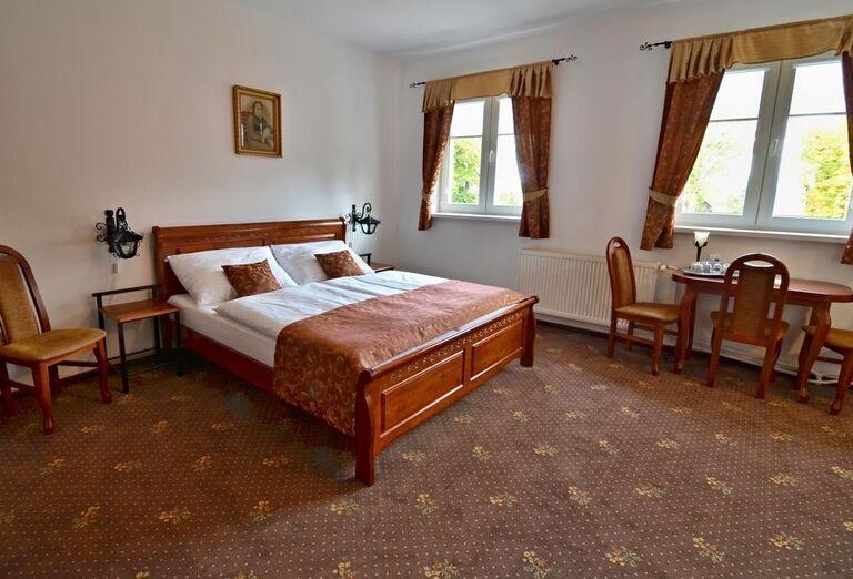 Ubytovanie v hoteli Svätojánsky kaštieľ