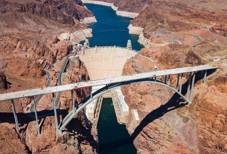 Priehrada Hoover Dam