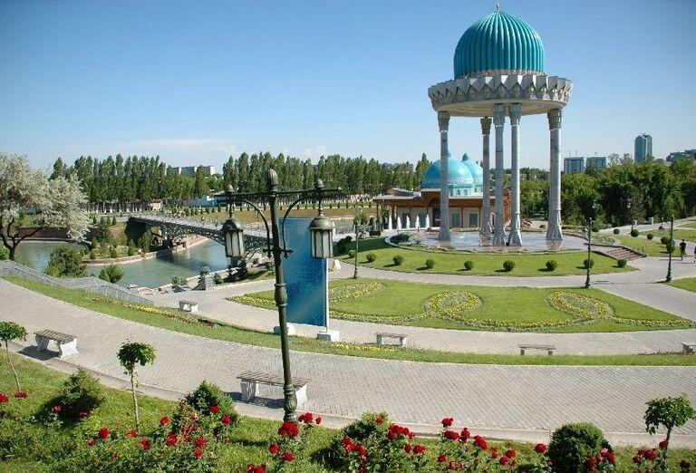 Pravidelný park-Taškent