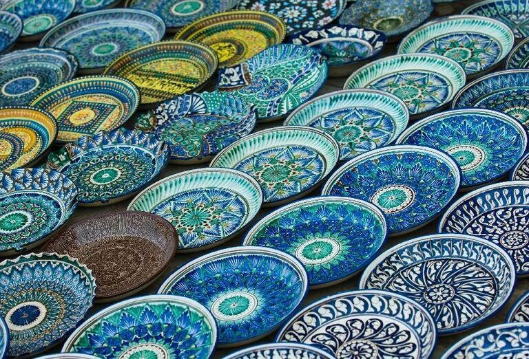 Tradičná uzbekistánska keramika