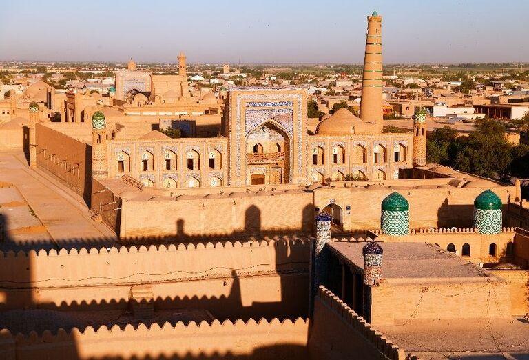 Pohľad na Khiva