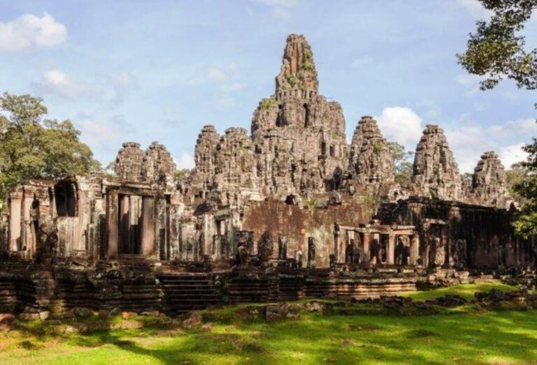Vietnam - Kambodža- chrám