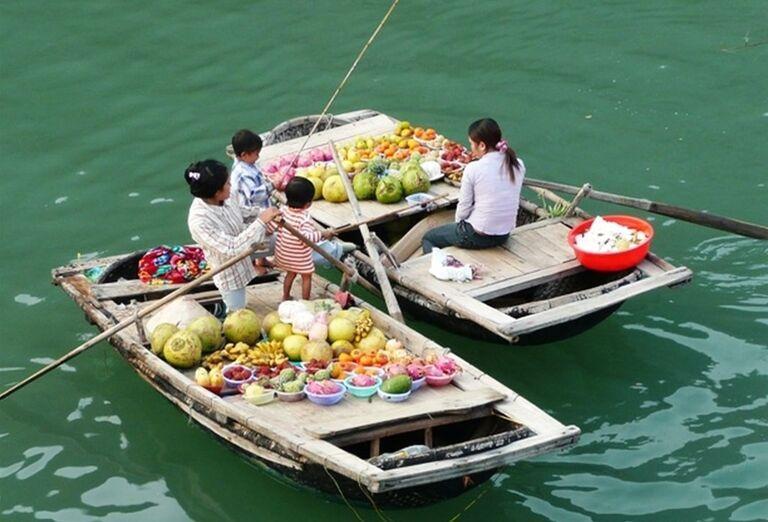 Tradičné vietnamské ľode