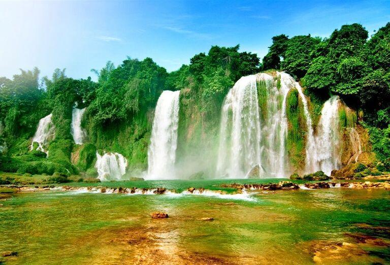 Vodopády Ban Gioc