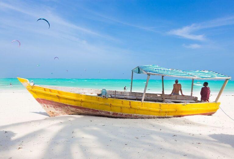 Tradičné lode na Zanzibare