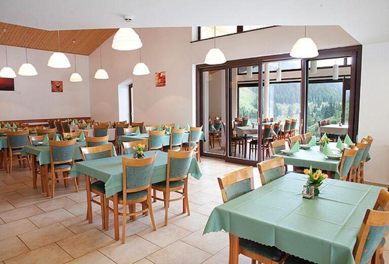 Jedáleň v hoteli Barbora