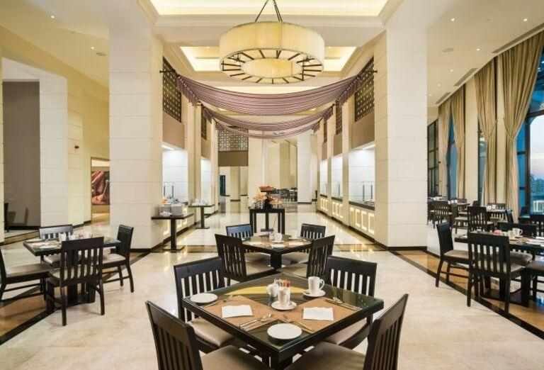 Reštaurácia v hoteli Fanar hotel and residences