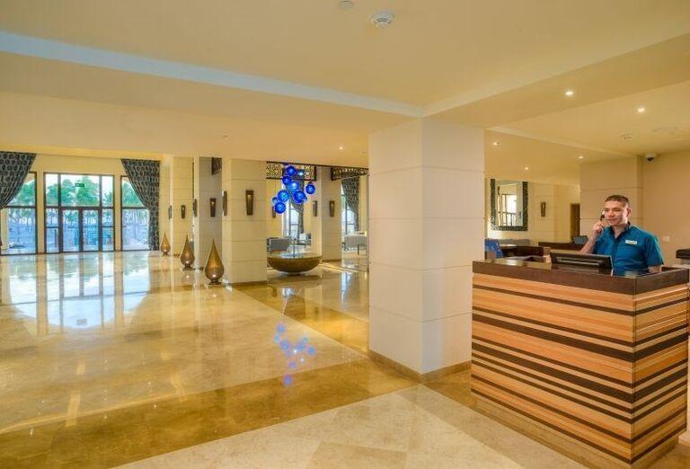 Vstupná hala v hoteli Fanar hotel and residences