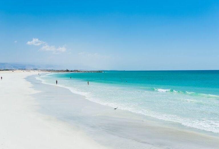 Piesočnatá pláž