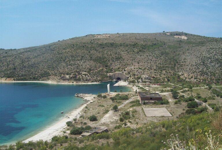 Albánsko - pohľad na krajinu