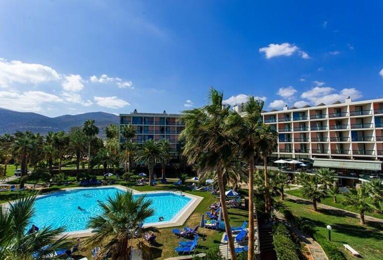 Areál hotela Club Calimera Sirens Beach and Village