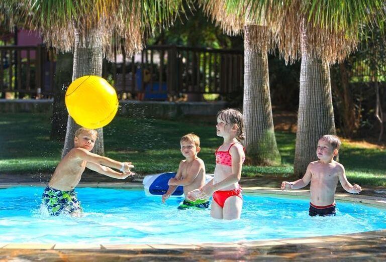 Bazén pre deti v hoteli Club Calimera Sirens Beach and Village