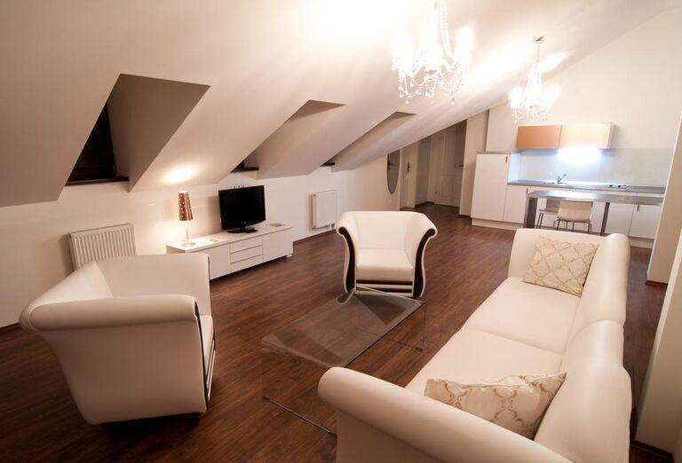 Podkrovné ubytovanie v Garni hoteli Virgo