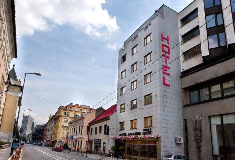 Pohľad na hotel Danubia Gate