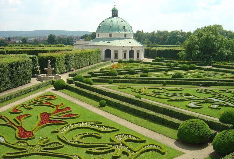Záhrady v Kroměříži