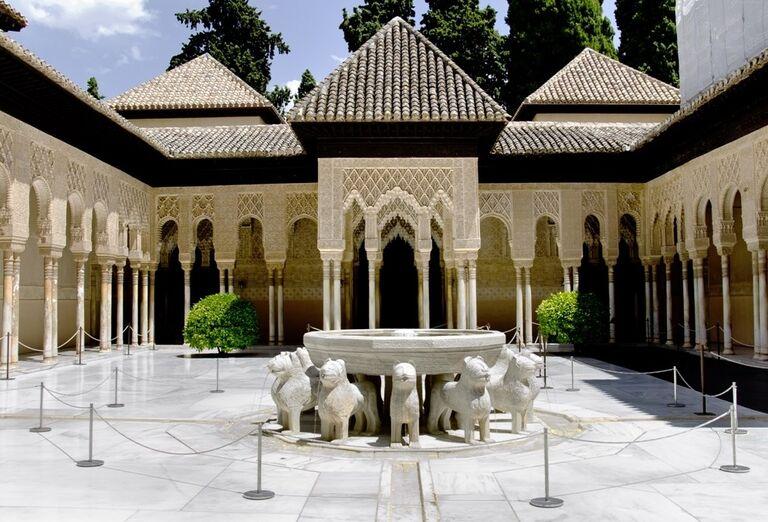 Alhambra, Granada, poznávací zájazd, Španielsko
