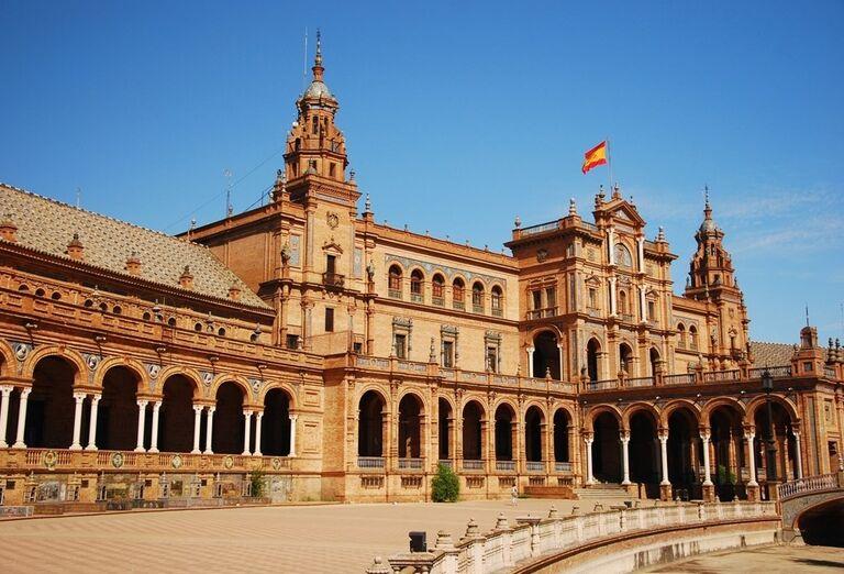 Španielske námestie, Sevilla, poznávací zájazd, Španielsko