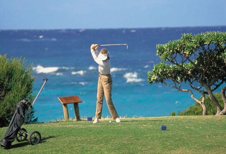 Golf v hoteli Shandrani Beachcomber Resort & Spa