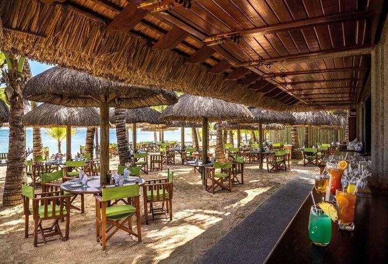 Reštaurácia s barom na pláži