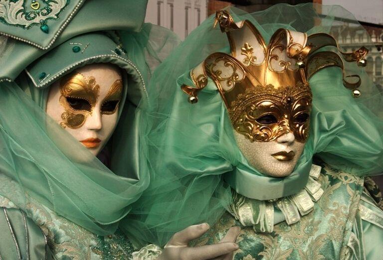 Masky, karneval v Benátkach, poznávací zájazd, Taliansko