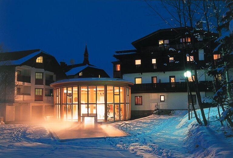 Exterier, hotel Bon Alpina, Igls