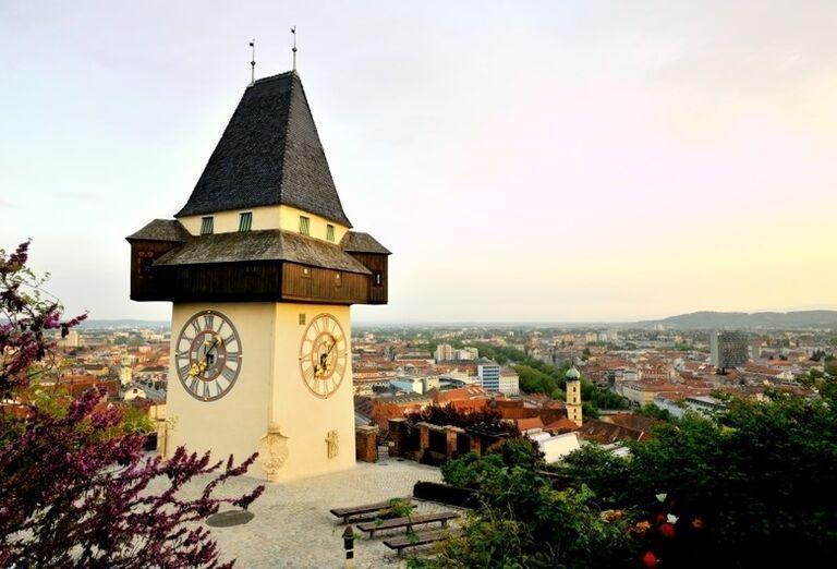 Hodinová veža, Graz