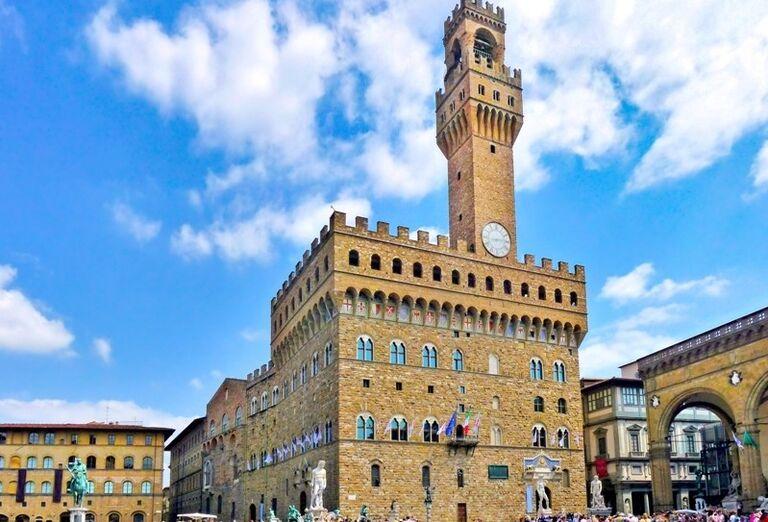 Palazzo Vecchio, Florencia, poznávací zájazd, Taliansko