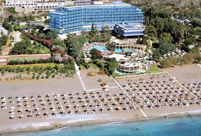 plaz, hotel Calypso, Faliraki