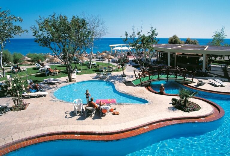 bazen, hotel Calypso, Faliraki