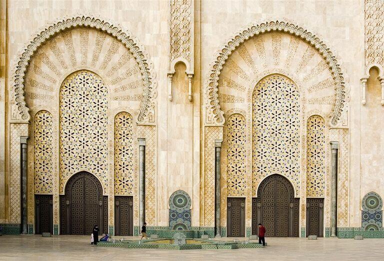 Medresa v meste Fez