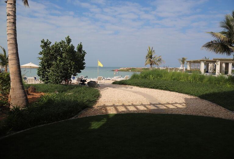 Hotel Hilton Resort & Spa - záhrada