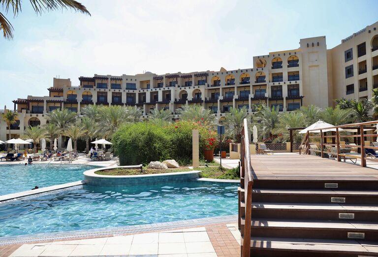 Areál hotela - Hotel Hilton Resort & Spa Ras Al Khaimah