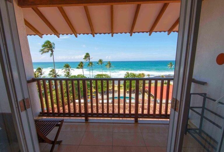 Hotel Citrus Hikkaduwa -  Výhľad z balkóna na izbe