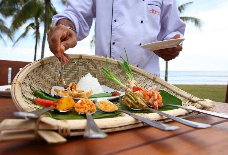 Hotel Citrus Hikkaduwa - Servírovanie jedla