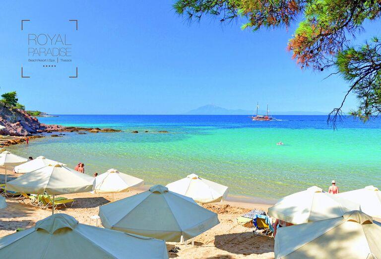 Pláž Hotel Royal Paradise Beach Resort & Spa *****