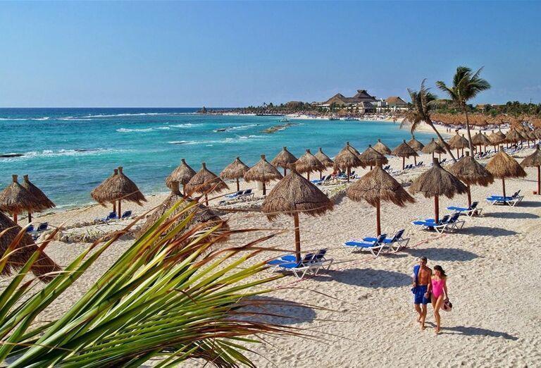 Hotel Grand Bahia Principe Tulum -Piesočnatá  pláž