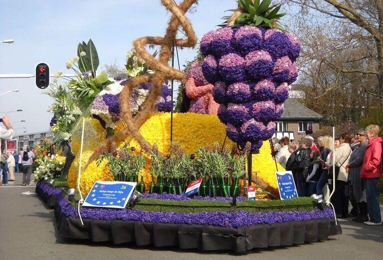 Výstava z kvetov-Holandsko