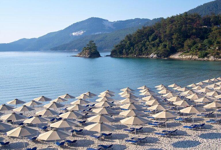 Pláž Hotel Makryammos Bungalows ****