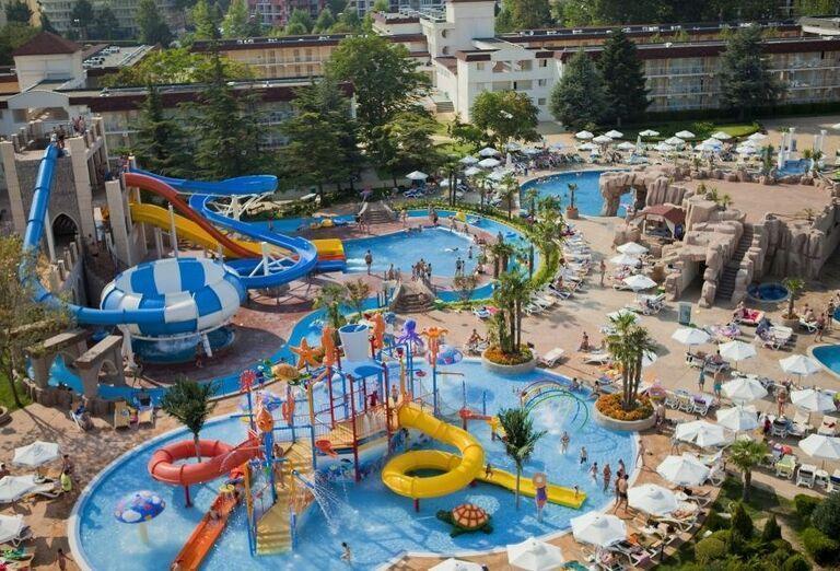 Hotel Evrika Beach Club - vodné atrakcie