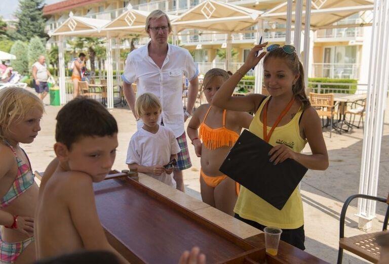 Hotel Evrika Beach Club - deti s animátorkou