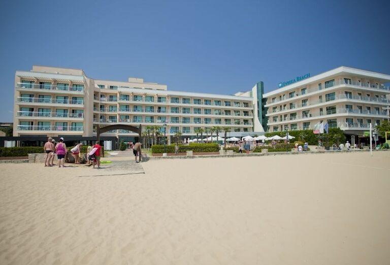 Hotel Evrika Beach Club - pohľad na hotel