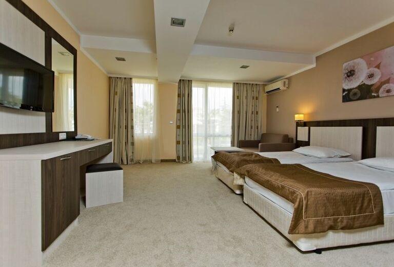Hotel Evrika Beach Club - hotelová izba